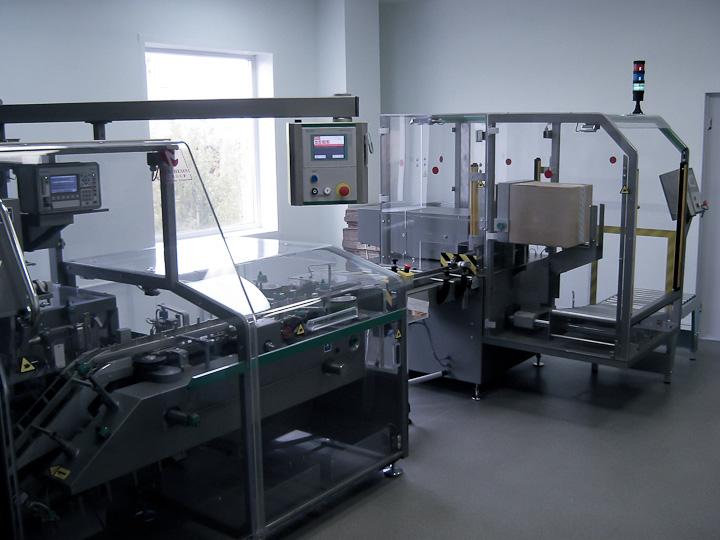 Упаковочная линияна производстве АЛСИ Фарма