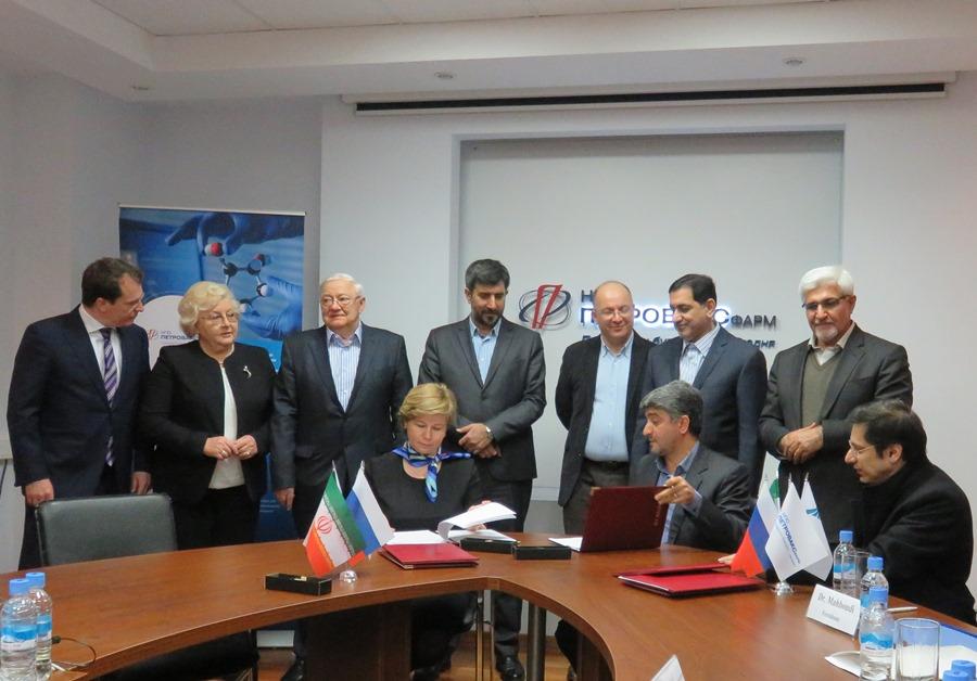 Подписание соглашения между «Петровакс Фарм» и Ираном