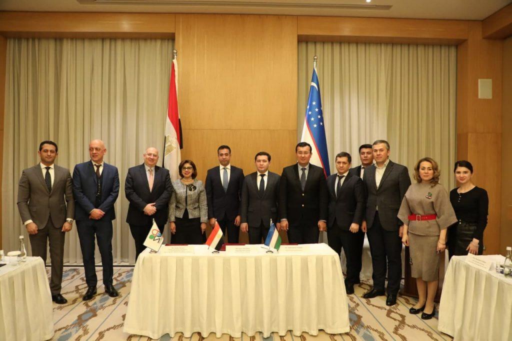Подписан крупный инвестиционный проект между Узбекистаном и Египтом