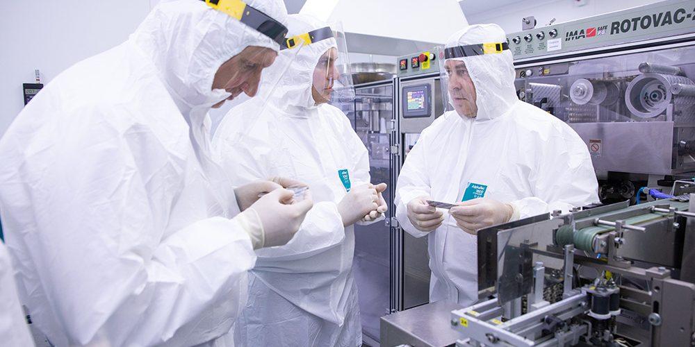 На заводе «Биохимик» состоялся запуск модернизированной линии по производству ТЛФ