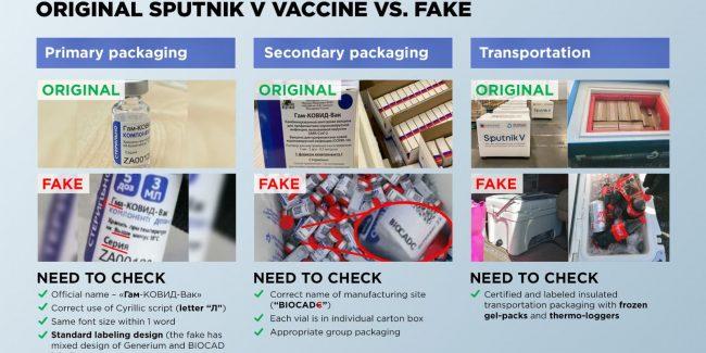В Мексике задержана нелегальная партия поддельной вакцины «Спутник V»