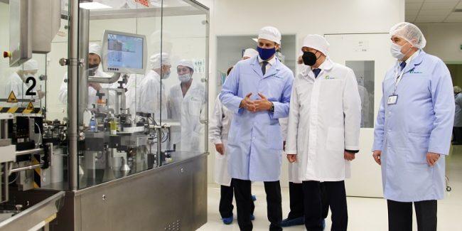 ПОЛИСАН запустил линию по производству вакцин «Спутник-V» и «Спутник-лайт»