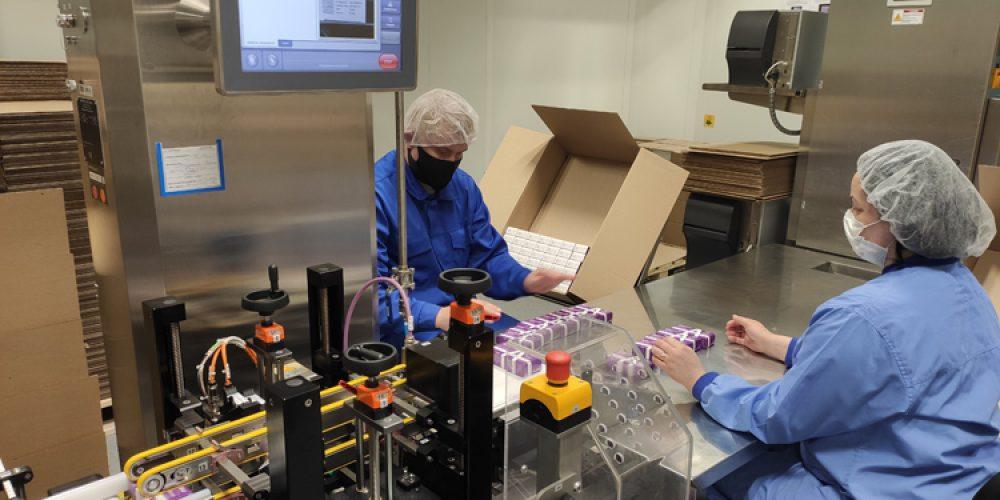 «Акрихин» успешно запустил систему маркировки лекарств на своем предприятии