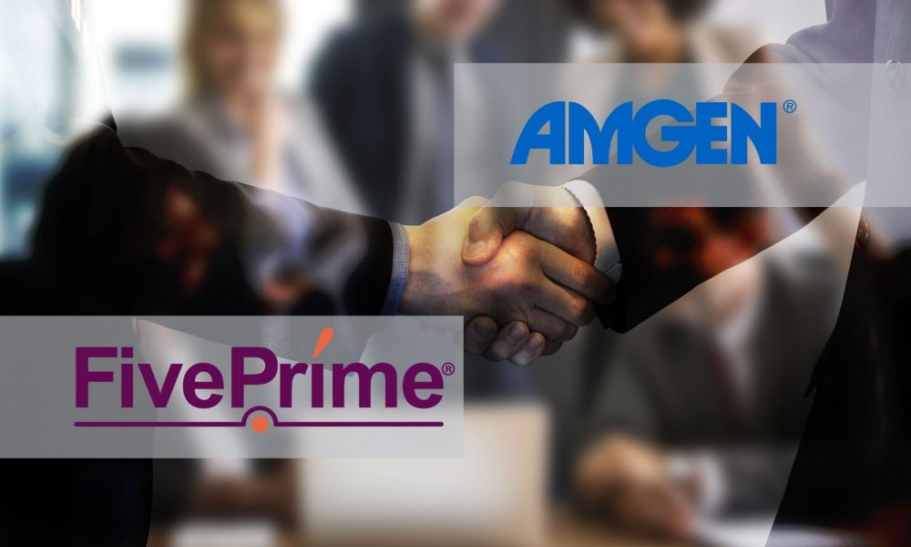 Amgen приобретёт Five Prime Therapeutics за 1,9 млрд долларов