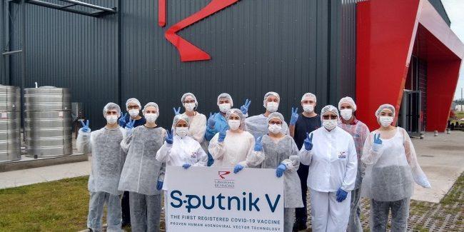 В Аргентине выпущена первая партия вакцины «Спутник V»