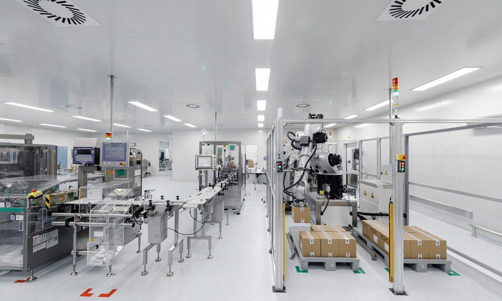 Производство вакцин BIOCAD
