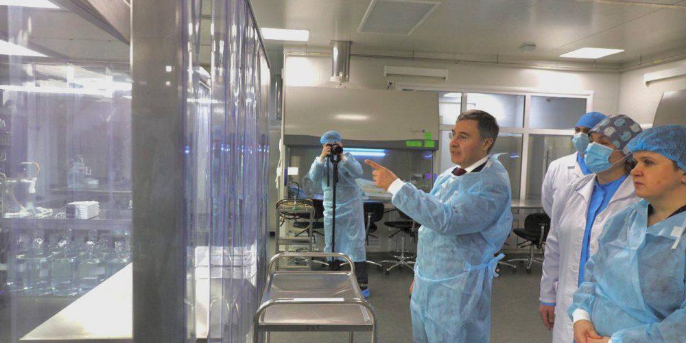 Валерий Фальков дал старт производству вакцины «КовиВак»