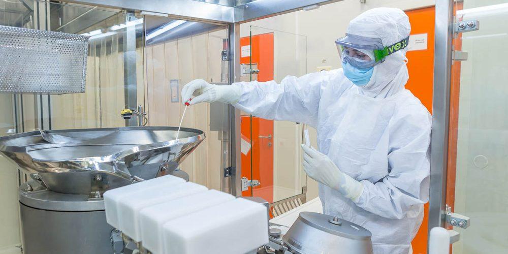 Микробиолог на фармацевтическом производстве ФОРТ