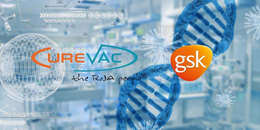 GSK и CureVac разработают мРНК-вакцины от COVID-19 нового поколения