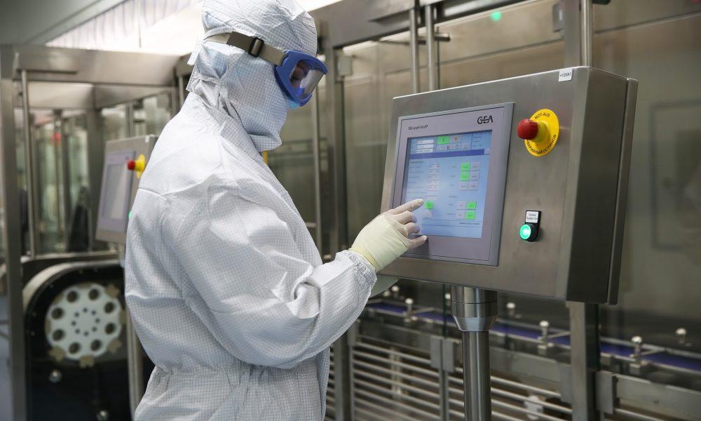 производство вакцины спутник