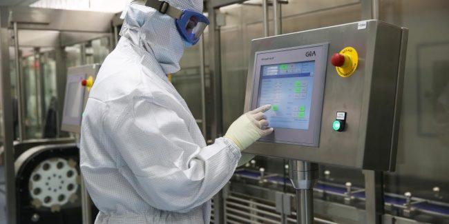 Производство вакцины на КФК осуществляется в соответствии с планом