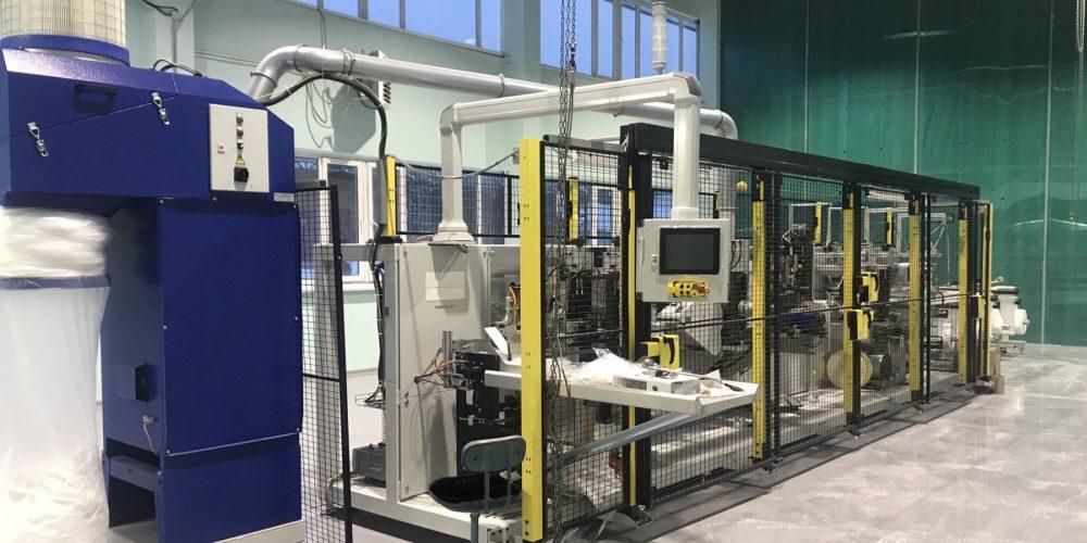 Запущена крупнейшая в России линия по производству медицинских респираторов