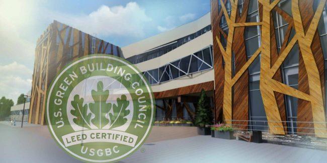 ИЯМ признан соответствующим международным стандартам «зеленых» зданий LEED