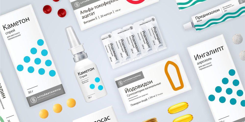 В рамках проводимого ребрендинга «Алтайвитамины» создали новую упаковку своей продукции