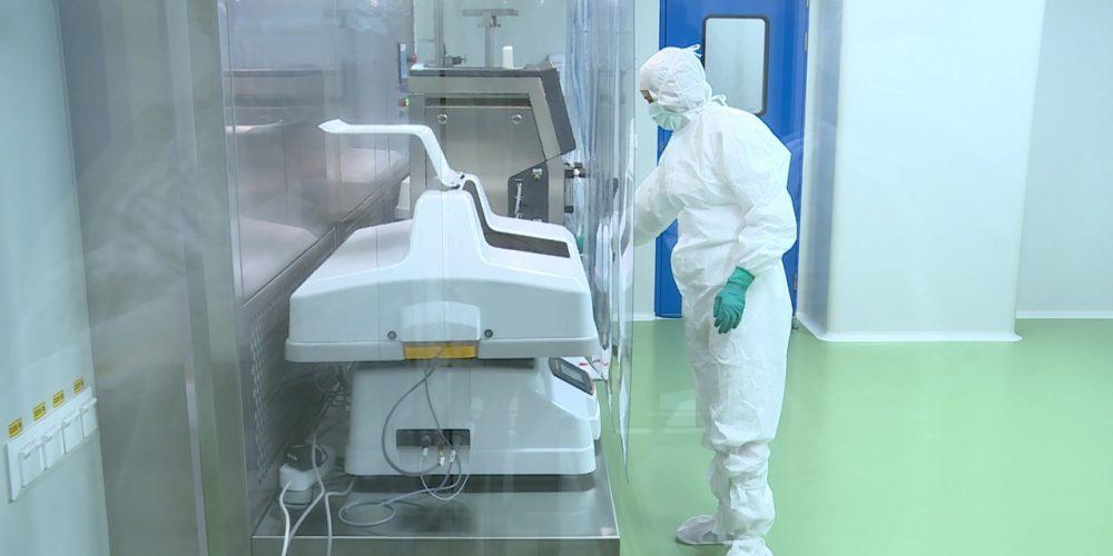 Журналисты посмотрели на новые цеха новоуральского завода Медсинтез