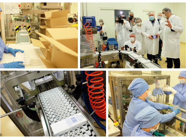 The plant of Nanolek is about to launch production of the third Covivac vaccine