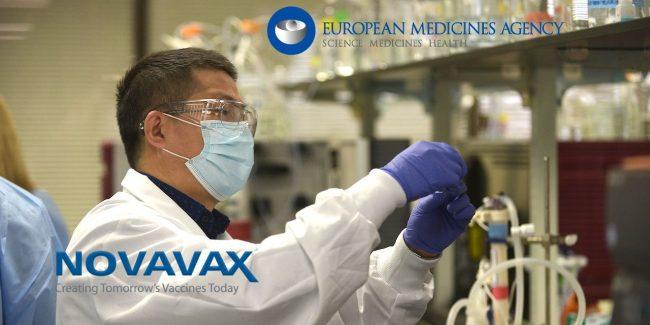 EMA начинает скользящий обзор вакцины Novavax от COVID-19