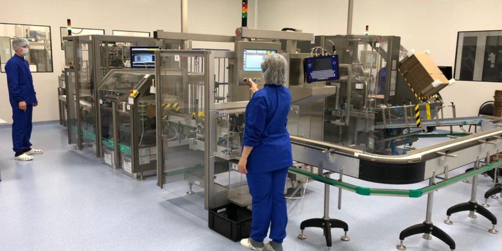 После запуска второй линии «Озон» сможет выпускать 500 тысяч упаковок лекарств в сутки