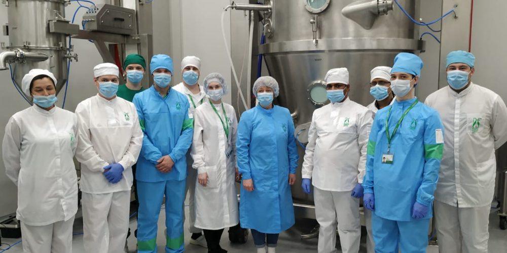 «Фармасинтез» запустил новую производственную линию на иркутском заводе