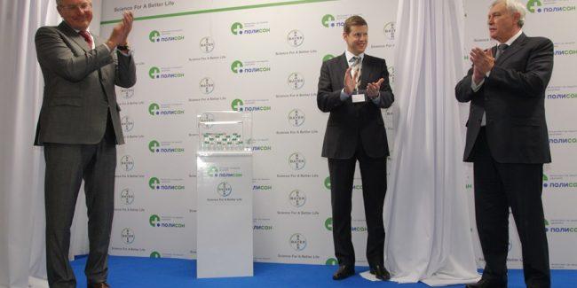 Bayer запустил производство рентгеноконтрастных препаратов на заводе Полисана