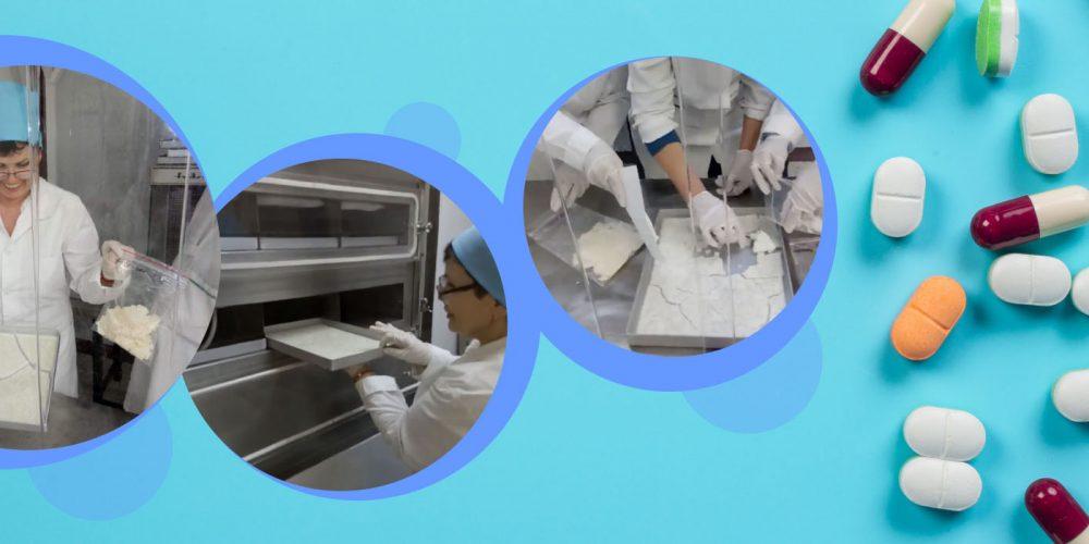 Завод «Восток» выпустил субстанцию для полипептидного антибиотика