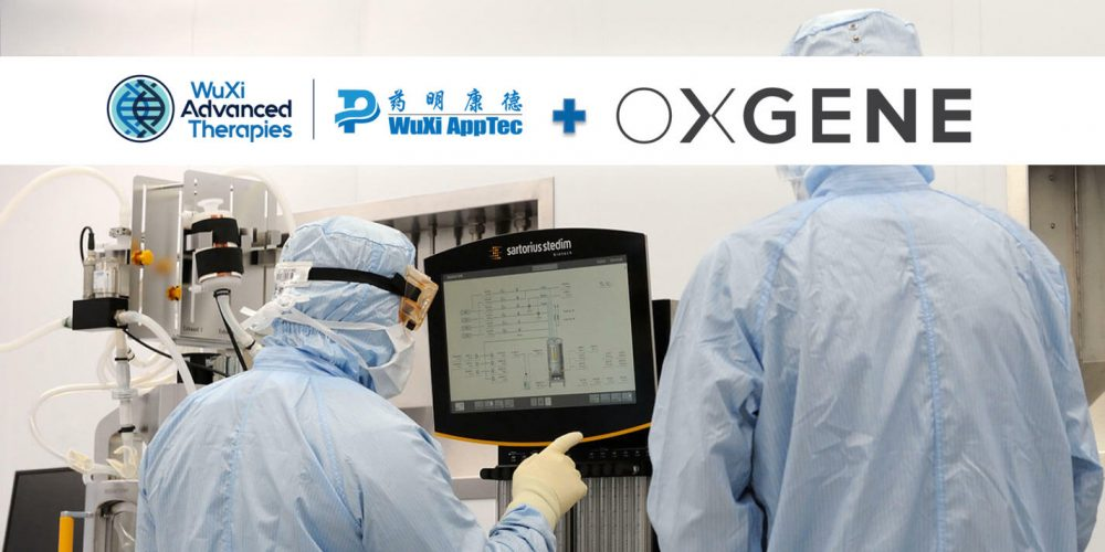 WuXi AppTec завершила сделку по приобретению Oxgene за $135 млн