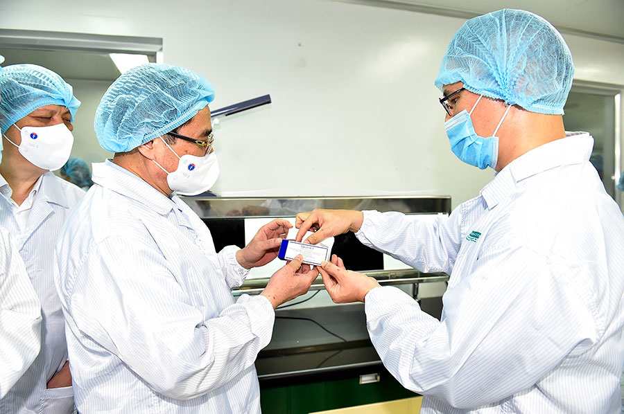 Вакцина Спутник V во Вьетнаме